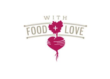 With Food + Love logo