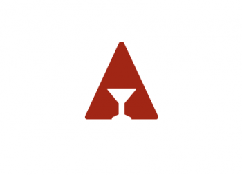 American Barwares logo identity print design