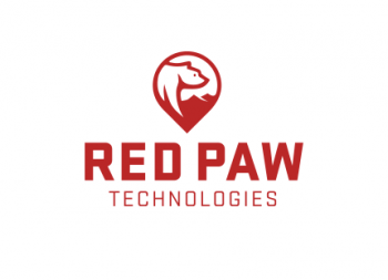 Red Paw Technologies logo design